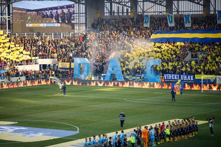 DAC–Slovan: Ilyen egyedi látványt készítettek a DAC szurkolói