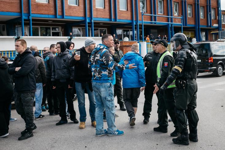 A DAC szerint jogos volt a Slovan-szurkolók kizavarása
