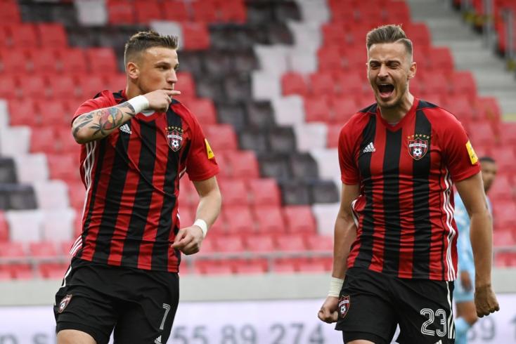 Fortuna Liga, rájátszás, 7. forduló: Felpofozták a Slovant Nagyszombatban
