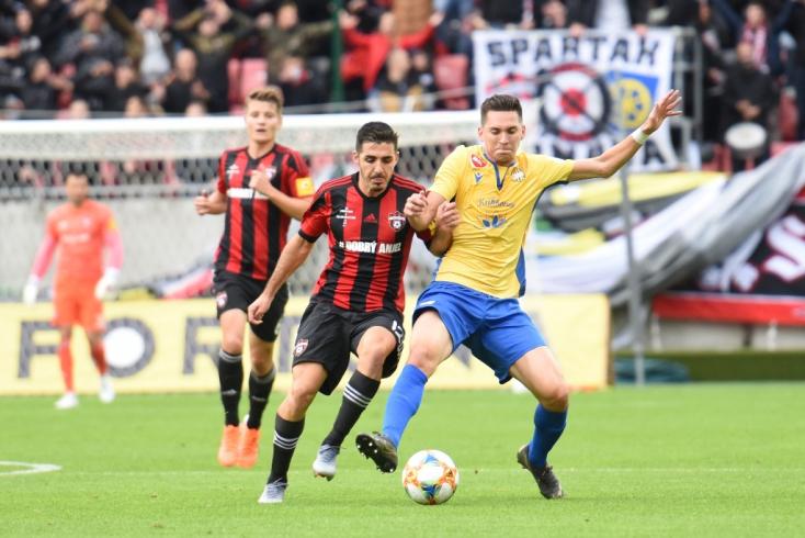 Fortuna Liga, 11. forduló: Öt év után nyert a DAC Nagyszombatban, megszenvedett a Slovan
