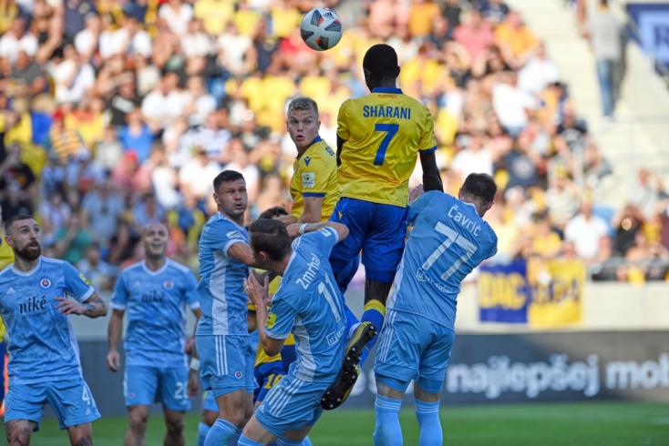 Fortuna Liga, 7. forduló: Schäfer gyönyörű gólja is kevés volt a Slovan ellen VIDEÓ