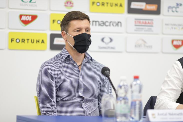 """DAC-Žilina – Németh: """"Láttam a fiúkon, hogy meg akarják nyerni a meccset"""""""