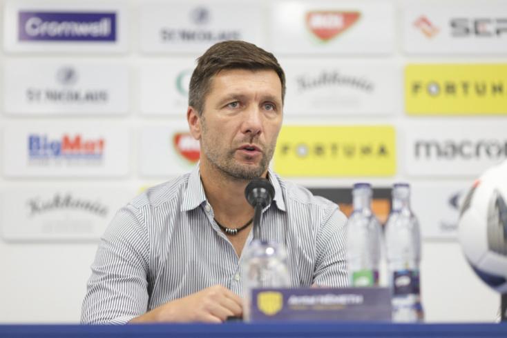 """DAC-Liptovský Mikuláš – Németh: """"Nemcsak a három pontért küzdöttünk, hanem a szurkolóinkért is"""""""