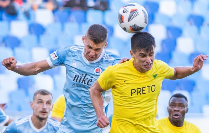 Fortuna Liga, 8. forduló: Kétszer is vezetett a Slovan a Žilina ellen, mégsem tudott nyerni