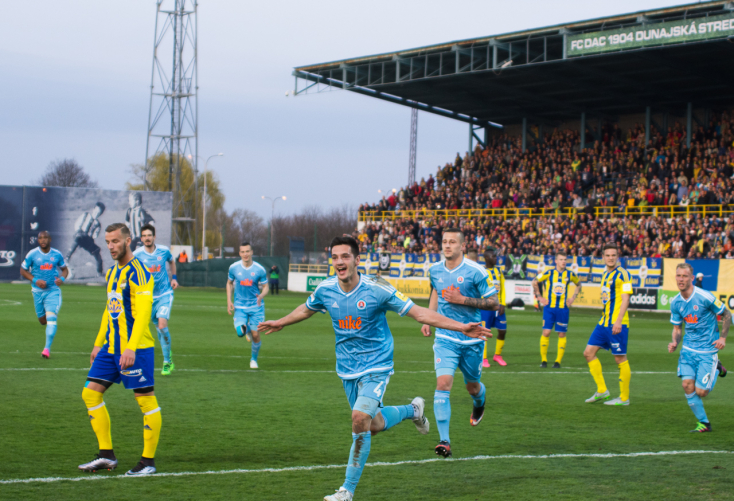 Fortuna Liga: FC DAC 1904 - Slovan Bratislava 0:2 (Online)