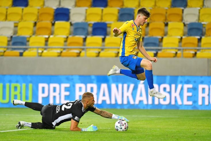 Fortuna-szombat, rájátszás 1. forduló: Visszaadta az ötöst a DAC, karnyújtásnyira a bajnoki címtől a Slovan