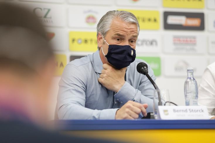 """DAC-Slovan – Storck: """"Megmutatkozott, hogy a Slovan tapasztaltabb játékosokkal rendelkezik"""""""