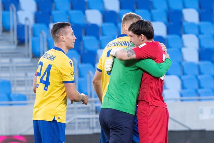 Fortuna Liga, rájátszás, 8. forduló: Elmaradt a bajnokavatás, a DAC legyőzte a Slovant Pozsonyban