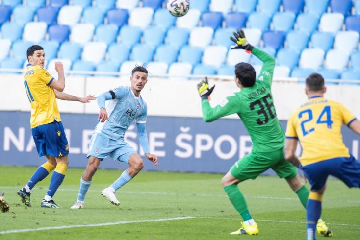 Fortuna Liga, 22. forduló: A Slovan nyerte a derbit, tovább növelte előnyét a DAC-cal szemben