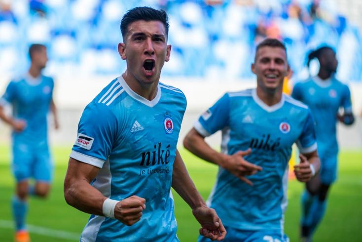 Fortuna Liga, 10. forduló: Gázolt, és továbbra is első a Slovan, de ott liheg a nyakán a Spartak