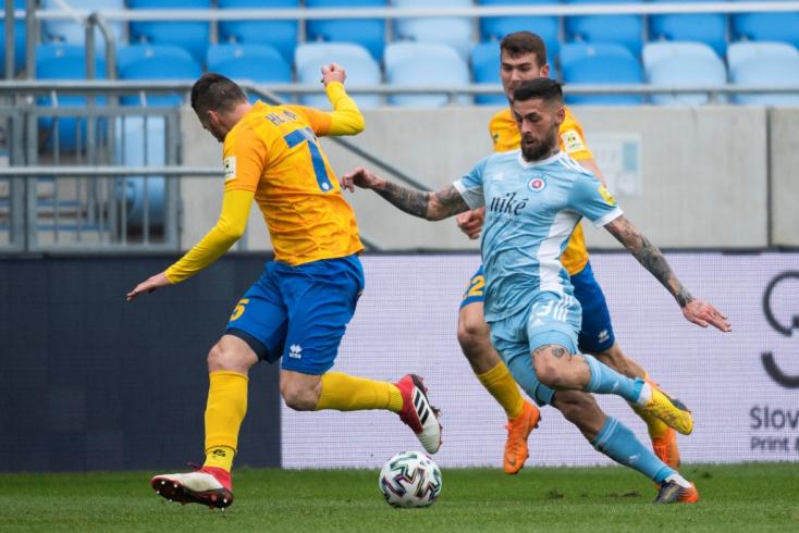 Fortuna-szombat, 20. forduló: Nehezen, de győzni tudott a Slovan, idegenből hozott három pontot a Trenčín és a Spartak
