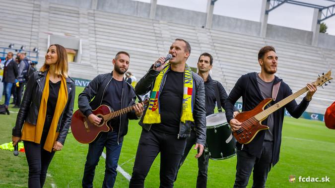 DAC–Spartak: Így hangzott a Nélküled az Arizóna együttes előadásában