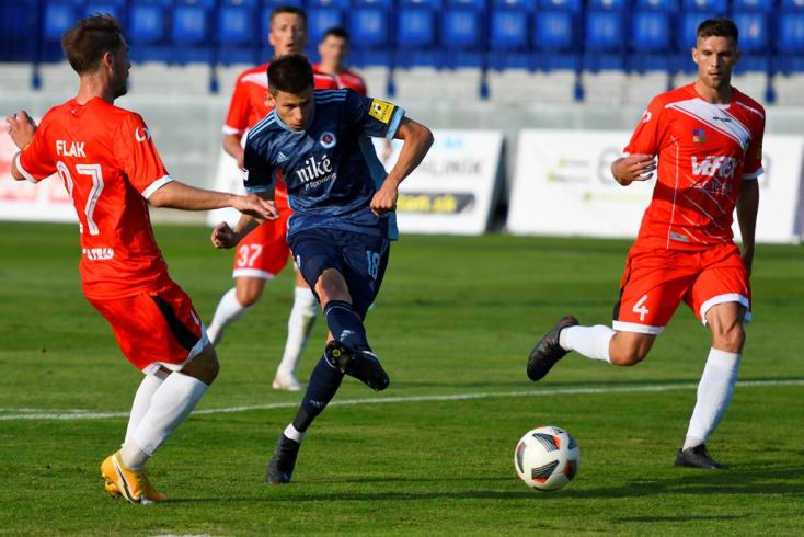 Fortuna-szombat, 1. forduló: Négy percig hagyta reménykedni az újoncot a Slovan