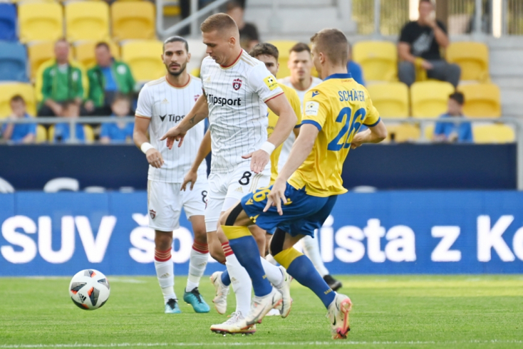 Fortuna Liga, 9. forduló: Simán kikapott a DAC a Spartaktól (VIDEÓ)