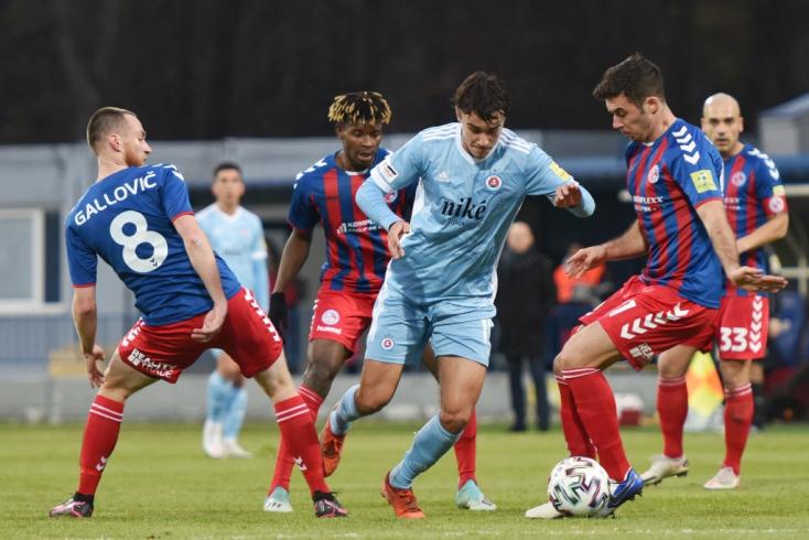 Fortuna Liga, 15. forduló: Simán győzött a Slovan, megint csak egy napig volt éllovas a DAC