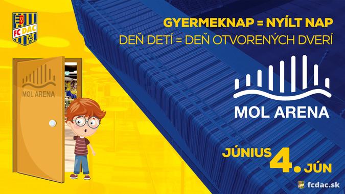 Gyermeknap a MOL Arénában!