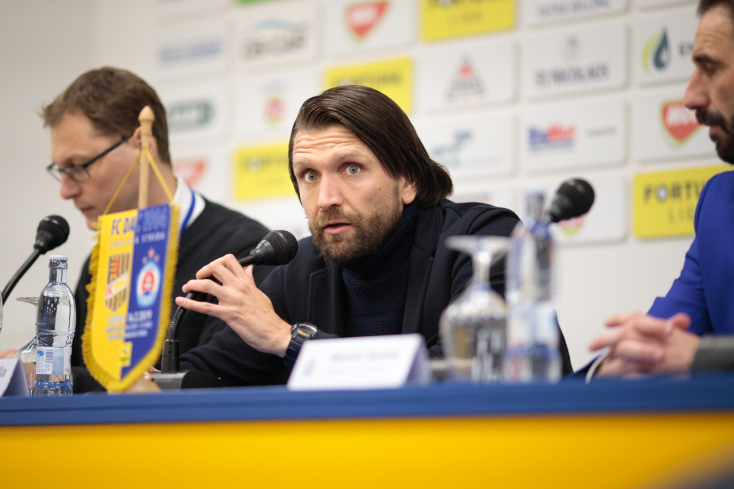 """DAC-Slovan – Hyballa: """"Úgy hiszem, a 0:0 igazságosabb lett volna"""""""