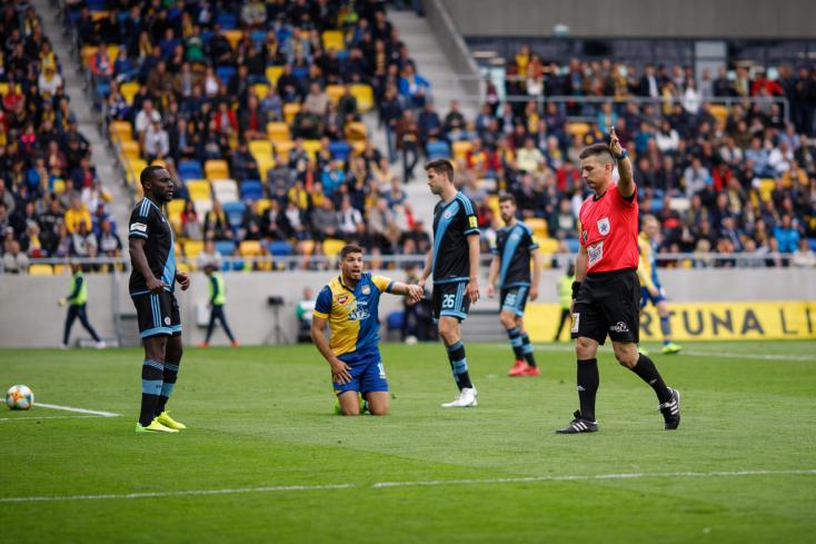 DAC: Három kiállítás az elmúlt szezonban - mindannyiszor a Slovan ellen
