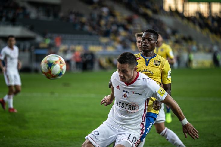 Fortuna Liga, 9. forduló: Gyenge játékkal maradt alul a DAC, hatgólos thriller Trencsénben