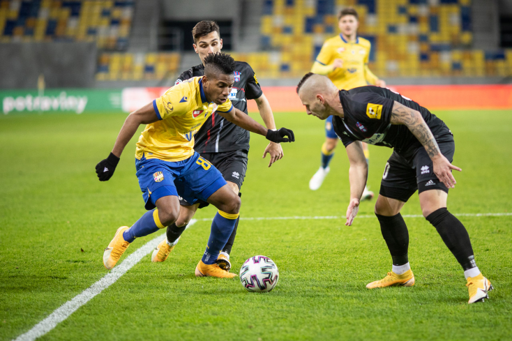 FOTÓK a DAC Zlaté Moravce elleni bajnoki mérkőzéséről
