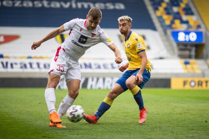 Fortuna Liga, rájátszás, 9. forduló: Él még a remény Dunaszerdahelyen, de a Slovan harmadszor már nem hibázna