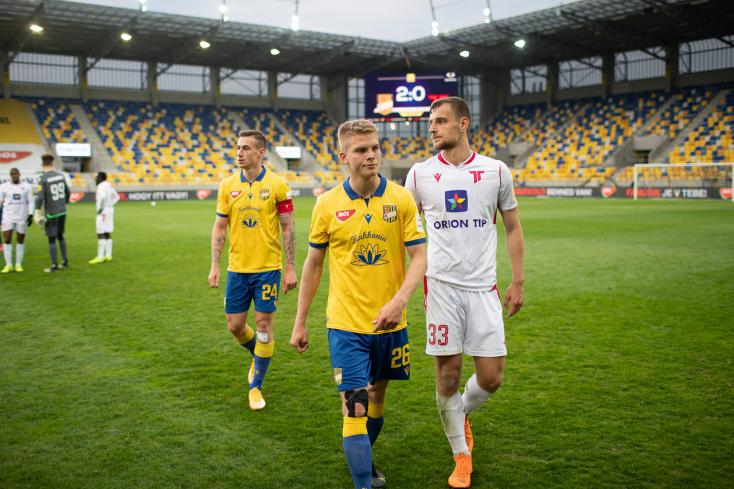 Fortuna Liga, rájátszás, 5. forduló: A DAC a hétvége győztese