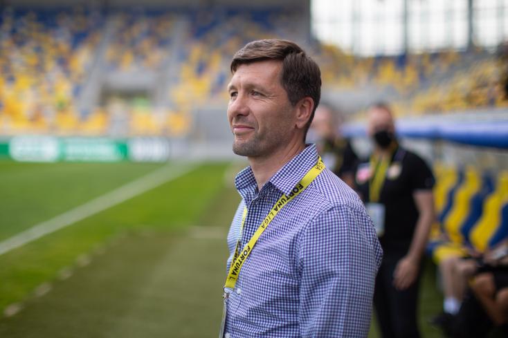 """Trenčín-DAC – Németh: """"Elégedetlen vagyok, amiért a végén gólt kaptunk, de a Trencsén megérdemelte az egy pontot"""""""