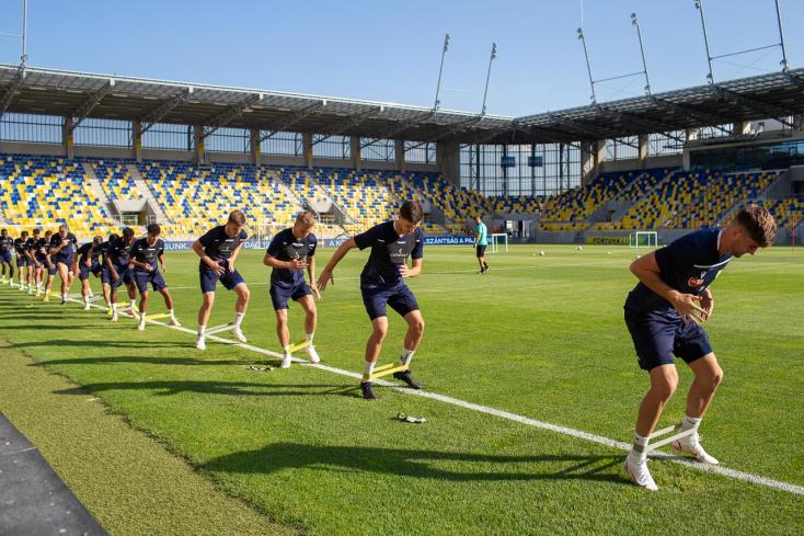 Így hangolódtak a DAC és a Partizan játékosai az esti összecsapásra (KÉPGALÉRIA)