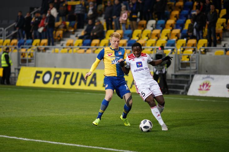 Fortuna Liga, 16. forduló: Elveszített két pontot a DAC, botlottak a favoritok