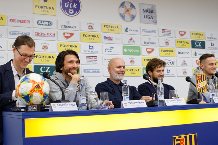 """DAC: """"Sokan már bajnoknak hiszik a Slovant, de a futball olykor elég őrült tud lenni"""""""