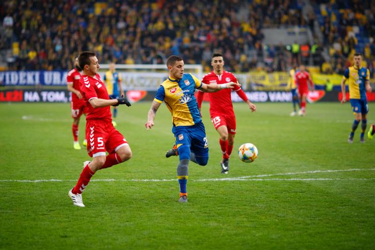 Fortuna Liga, 21. forduló: Kiszenvedte a győzelmet a DAC, nehéz helyzetben a Spartak