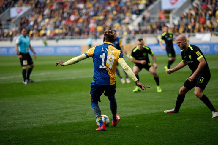 Fortuna Liga, rájátszás, 7. forduló: Egy győzelemre a DAC a történelmi bajnoki sikertől
