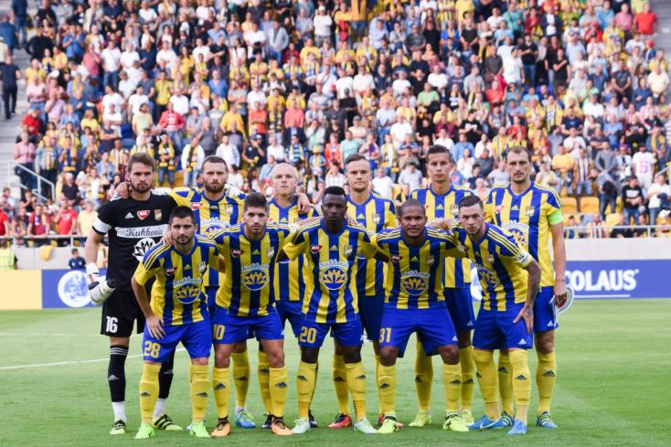 Fortuna Liga: FC DAC 1904 - MFK Ružomberok 1:1 (Online)