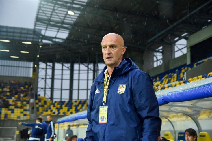 DAC-Ružomberok – Rossi: A játékkal elégedett vagyok, az eredménnyel kevésbé