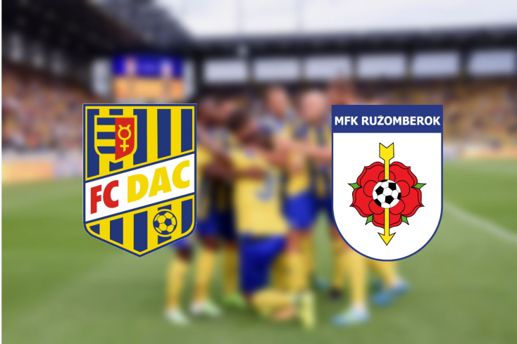 Slovnaft Cup: FC DAC 1904 - MFK Ružomberok 1:1 (Online)