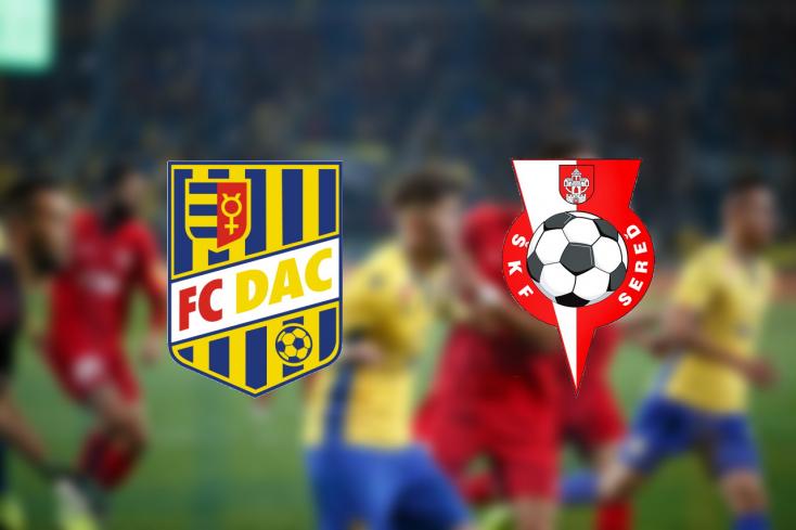Fortuna Liga: FC DAC 1904 - ŠKF Iclinic Sereď 6:0 (Online)