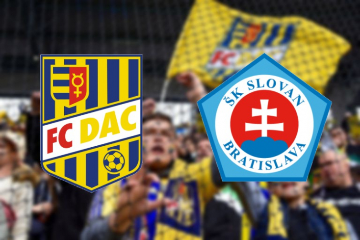 Fortuna Liga: FC DAC 1904 - ŠK Slovan Bratislava 1:0 (Online)