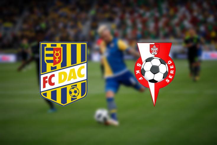 Fortuna Liga: FC DAC – ŠKF Sereď 3:4 (Online)