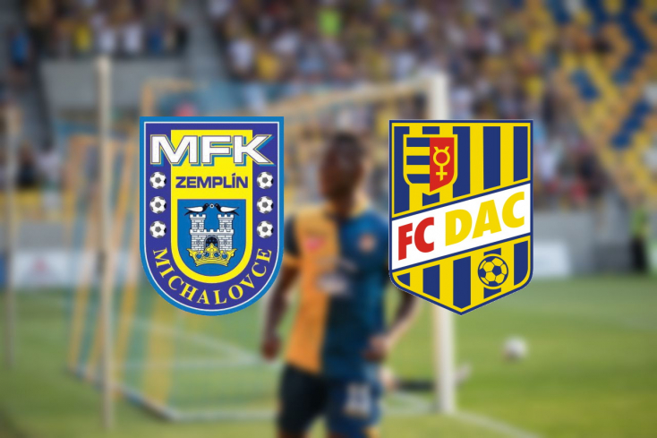 Fortuna Liga: MFK Zemplín Michalovce – FC DAC 1904 2:4 (Online)
