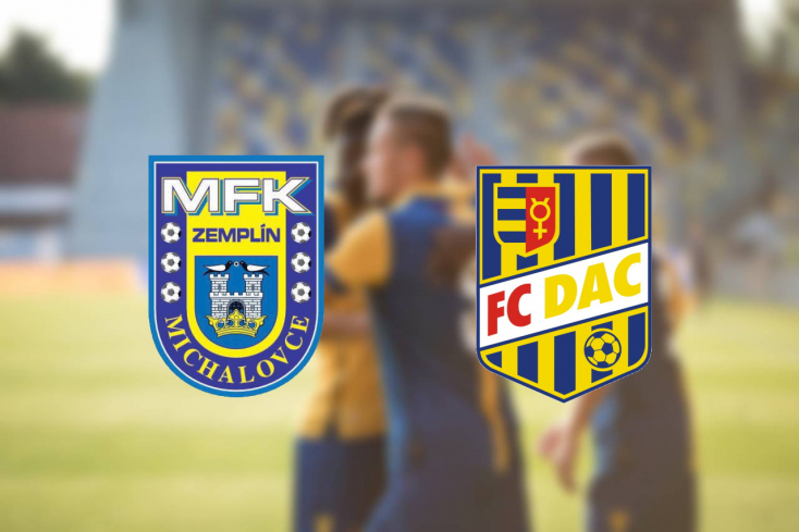 Fortuna Liga: Zemplín Michalovce – FC DAC 1904 5:0 (Online)
