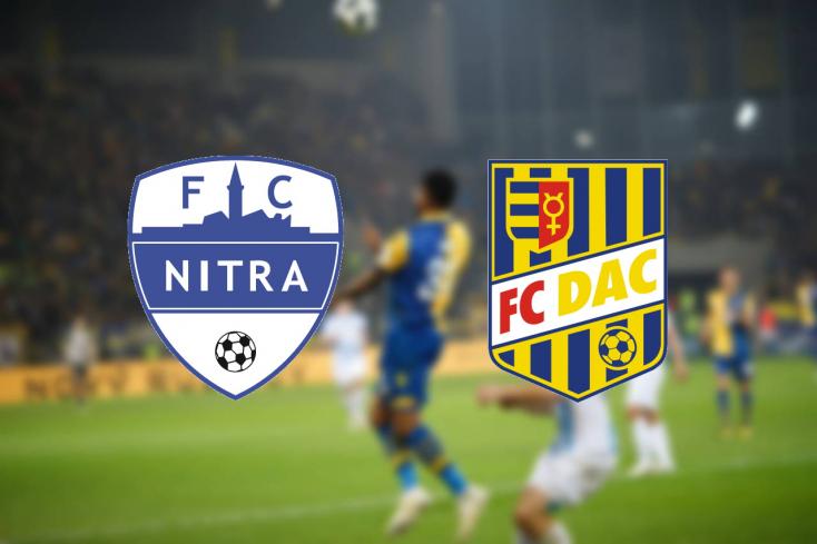 Fortuna Liga: FC Nitra – FC DAC 1904 1:2 (Online)