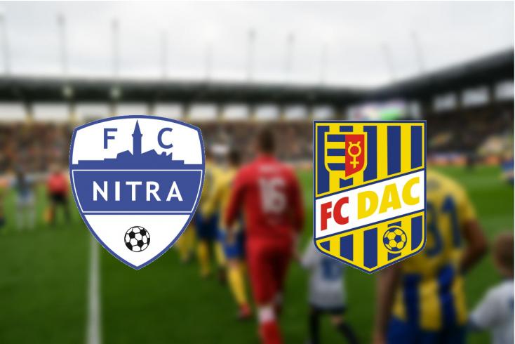 Fortuna Liga: FC Nitra – FC DAC 1904 0:1 (Online)