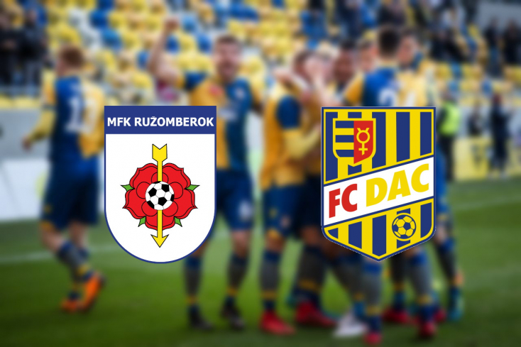 Fortuna Liga: MFK Ružomberok - FC DAC 1904 1:0 (Online)
