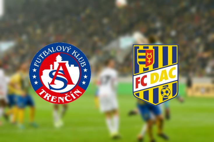 Fortuna Liga: AS Trenčín - FC DAC 1904 2:1 (Online)