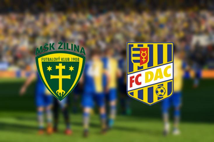 Fortuna Liga: MŠK Žilina - FC DAC 1904 1:2 (Online)