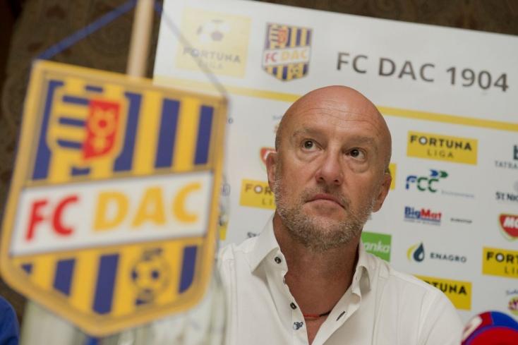 DAC-Zlaté Moravce – Rossi: Ráfizettünk a védelem 15 perces kiesésére
