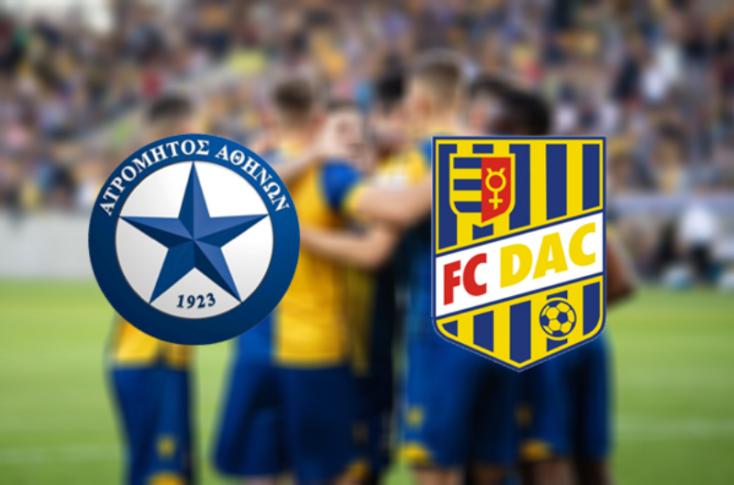 Európa-liga: Atromitosz FC - FC DAC 1904 3:2 - búcsúztak a sárga-kékek (Online)
