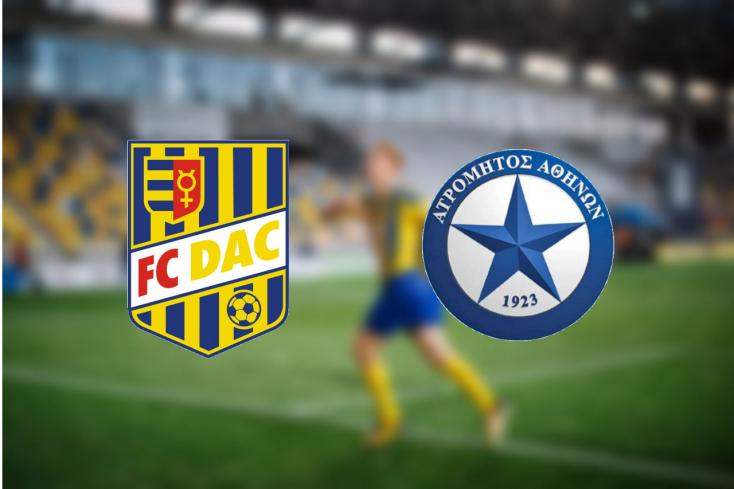 Európa-liga: FC  DAC 1904 – Atromitosz FC 1:2 (Online)