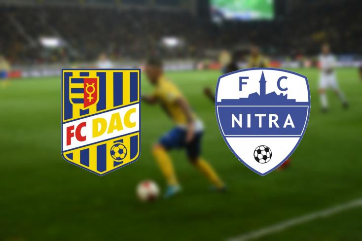 Fortuna Liga: FC DAC 1904 - FC Nitra 0:0 (Online)