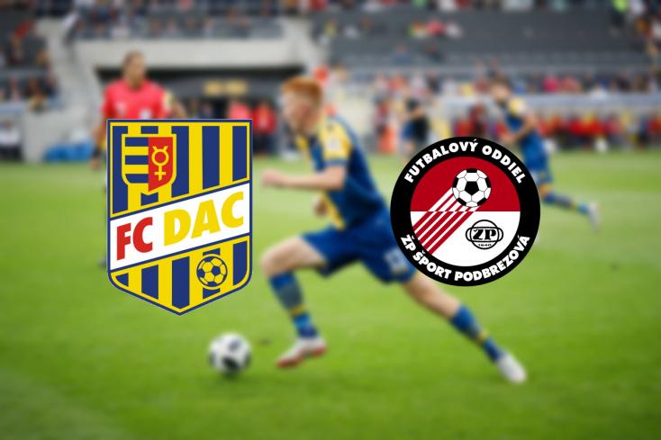 Fortuna Liga: FC DAC 1904 - FK Železiarne Podbrezová 3:2 (Online)